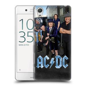 Plastové pouzdro na mobil Sony Xperia X Performance HEAD CASE AC/DC Skupina barevně