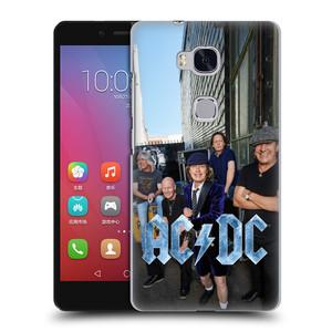 Plastové pouzdro na mobil Honor 5X HEAD CASE AC/DC Skupina barevně