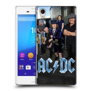 Plastové pouzdro na mobil Sony Xperia M4 Aqua E2303 HEAD CASE AC/DC Skupina barevně