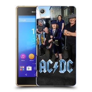 Plastové pouzdro na mobil Sony Xperia M5 HEAD CASE AC/DC Skupina barevně