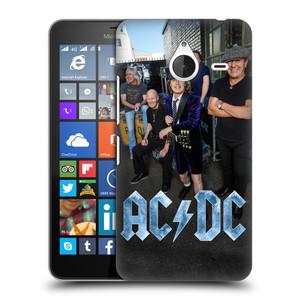 Plastové pouzdro na mobil Microsoft Lumia 640 XL HEAD CASE AC/DC Skupina barevně