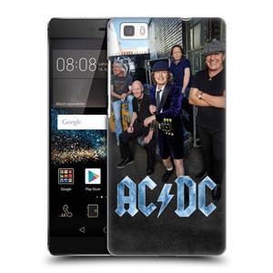Plastové pouzdro na mobil Huawei P8 Lite HEAD CASE AC/DC Skupina barevně