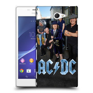 Plastové pouzdro na mobil Sony Xperia M2 D2303 HEAD CASE AC/DC Skupina barevně