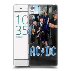 Plastové pouzdro na mobil Sony Xperia XA HEAD CASE AC/DC Skupina barevně