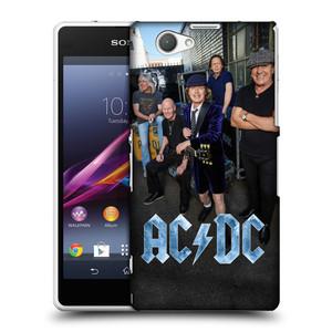 Plastové pouzdro na mobil Sony Xperia Z1 Compact D5503 HEAD CASE AC/DC Skupina barevně