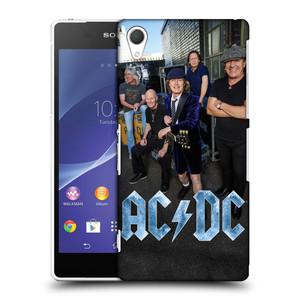 Plastové pouzdro na mobil Sony Xperia Z2 D6503 HEAD CASE AC/DC Skupina barevně