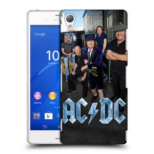 Plastové pouzdro na mobil Sony Xperia Z3 D6603 HEAD CASE AC/DC Skupina barevně