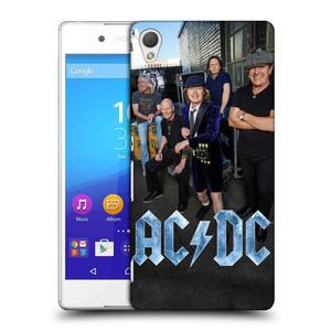 Plastové pouzdro na mobil Sony Xperia Z3+ (Plus) HEAD CASE AC/DC Skupina barevně