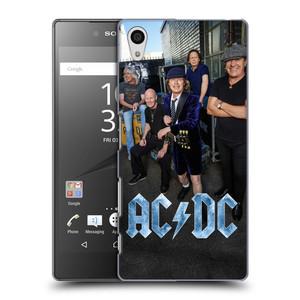 Plastové pouzdro na mobil Sony Xperia Z5 HEAD CASE AC/DC Skupina barevně