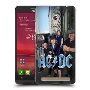 Plastové pouzdro na mobil Asus Zenfone 6 HEAD CASE AC/DC Skupina barevně