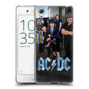 Silikonové pouzdro na mobil Sony Xperia X HEAD CASE AC/DC Skupina barevně