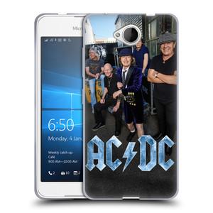 Silikonové pouzdro na mobil Microsoft Lumia 650 HEAD CASE AC/DC Skupina barevně