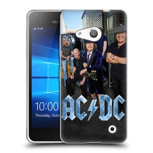 Silikonové pouzdro na mobil Microsoft Lumia 550 HEAD CASE AC/DC Skupina barevně