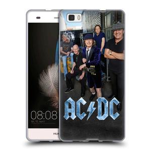 Silikonové pouzdro na mobil Huawei P8 Lite HEAD CASE AC/DC Skupina barevně
