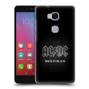 Plastové pouzdro na mobil Honor 5X HEAD CASE AC/DC BACK IN BLACK