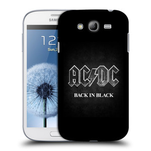 Plastové pouzdro na mobil Samsung Galaxy Grand Neo HEAD CASE AC/DC BACK IN BLACK