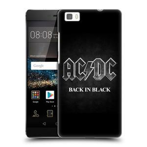 Plastové pouzdro na mobil Huawei P8 Lite HEAD CASE AC/DC BACK IN BLACK