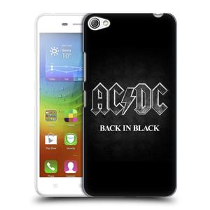 Plastové pouzdro na mobil Lenovo S60 HEAD CASE AC/DC BACK IN BLACK