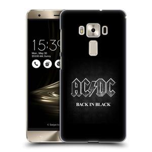 Plastové pouzdro na mobil Asus ZenFone 3 Deluxe ZS570KL HEAD CASE AC/DC BACK IN BLACK