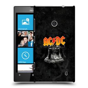 Plastové pouzdro na mobil Nokia Lumia 520 HEAD CASE AC/DC Hells Bells