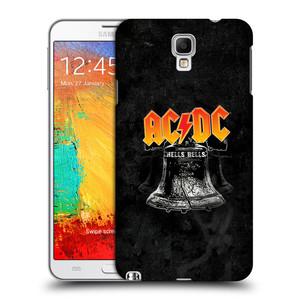 Plastové pouzdro na mobil Samsung Galaxy Note 3 Neo HEAD CASE AC/DC Hells Bells