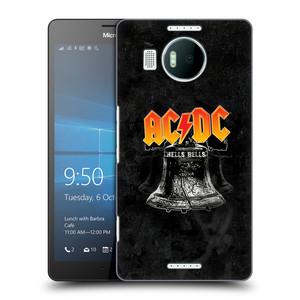 Plastové pouzdro na mobil Microsoft Lumia 950 XL HEAD CASE AC/DC Hells Bells