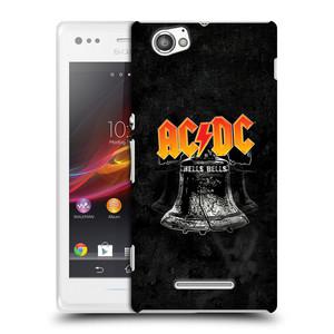 Plastové pouzdro na mobil Sony Xperia M C1905 HEAD CASE AC/DC Hells Bells