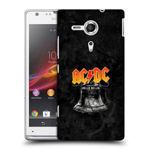 Plastové pouzdro na mobil Sony Xperia SP C5303 HEAD CASE AC/DC Hells Bells