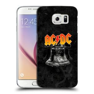 Plastové pouzdro na mobil Samsung Galaxy S6 HEAD CASE AC/DC Hells Bells