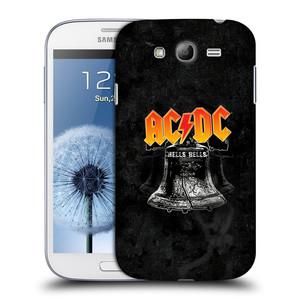 Plastové pouzdro na mobil Samsung Galaxy Grand Neo Plus HEAD CASE AC/DC Hells Bells
