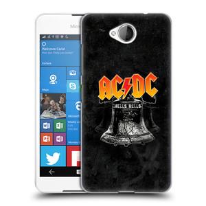 Plastové pouzdro na mobil Microsoft Lumia 650 HEAD CASE AC/DC Hells Bells