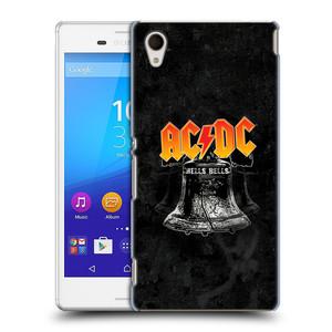 Plastové pouzdro na mobil Sony Xperia M4 Aqua E2303 HEAD CASE AC/DC Hells Bells