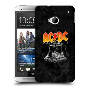 Plastové pouzdro na mobil HTC ONE M7 HEAD CASE AC/DC Hells Bells