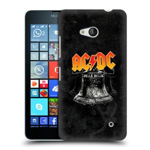 Plastové pouzdro na mobil Microsoft Lumia 640 HEAD CASE AC/DC Hells Bells