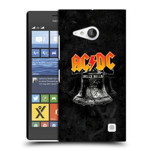 Plastové pouzdro na mobil Nokia Lumia 730 Dual SIM HEAD CASE AC/DC Hells Bells