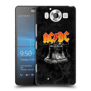 Plastové pouzdro na mobil Microsoft Lumia 950 HEAD CASE AC/DC Hells Bells