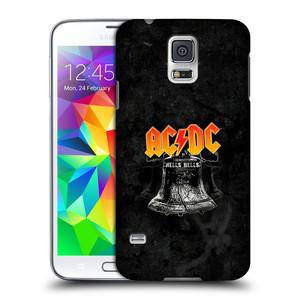 Plastové pouzdro na mobil Samsung Galaxy S5 HEAD CASE AC/DC Hells Bells