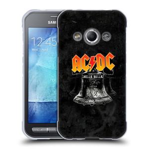 Silikonové pouzdro na mobil Samsung Galaxy Xcover 3 HEAD CASE AC/DC Hells Bells