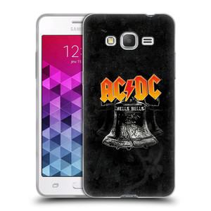 Silikonové pouzdro na mobil Samsung Galaxy Grand Prime HEAD CASE AC/DC Hells Bells
