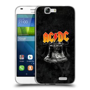 Silikonové pouzdro na mobil Huawei Ascend G7 HEAD CASE AC/DC Hells Bells