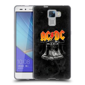 Silikonové pouzdro na mobil Honor 7 HEAD CASE AC/DC Hells Bells