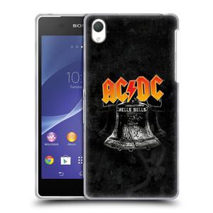 Silikonové pouzdro na mobil Sony Xperia Z2 D6503 HEAD CASE AC/DC Hells Bells