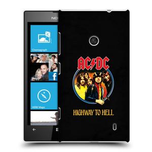 Plastové pouzdro na mobil Nokia Lumia 520 HEAD CASE AC/DC Highway to Hell