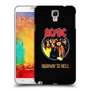 Plastové pouzdro na mobil Samsung Galaxy Note 3 Neo HEAD CASE AC/DC Highway to Hell