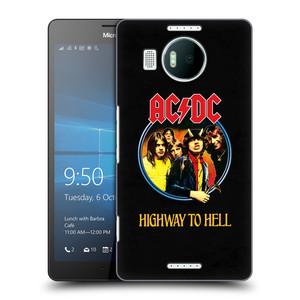 Plastové pouzdro na mobil Microsoft Lumia 950 XL HEAD CASE AC/DC Highway to Hell