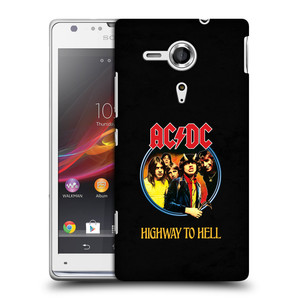 Plastové pouzdro na mobil Sony Xperia SP C5303 HEAD CASE AC/DC Highway to Hell
