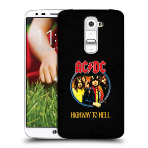 Plastové pouzdro na mobil LG G2 HEAD CASE AC/DC Highway to Hell