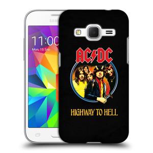 Plastové pouzdro na mobil Samsung Galaxy Core Prime LTE HEAD CASE AC/DC Highway to Hell