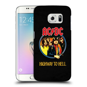 Plastové pouzdro na mobil Samsung Galaxy S6 Edge HEAD CASE AC/DC Highway to Hell
