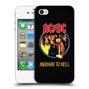 Plastové pouzdro na mobil Apple iPhone 4 a 4S HEAD CASE AC/DC Highway to Hell